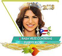 Raisa Velez Contreras Miss Teen Earth 2013